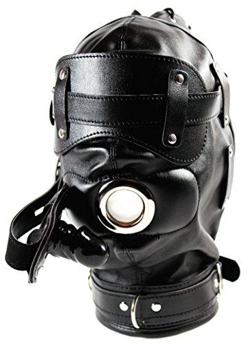 Bondage-Maske mit Penis-Mund-Knebel