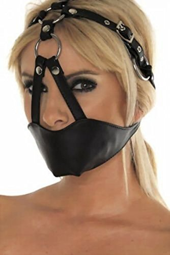 Harness Gags – Leder Maulkorb / Kopf Harness