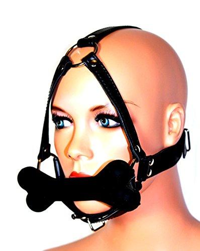 Bondage-Harness / Knochen-Beißknebel