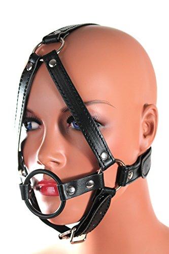 Harness mit Ring-Knebel 40mm und Kinnriemen