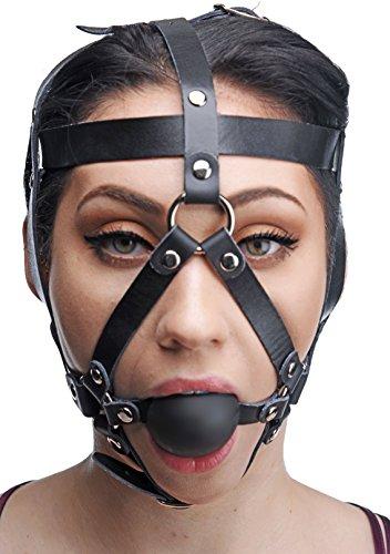 Kopf-Harness mit Ball-Gag