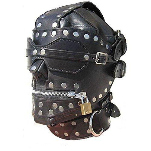 Bondage-Maske in Lederoptik